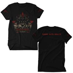 Bark, Bite, Balls Black T-Shirt