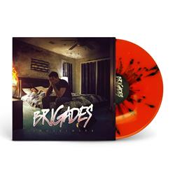 Indefinite Orange W/Black Splatter Vinyl LP