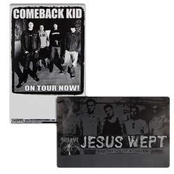 Comeback Kid/Jesus Wept Double Sided