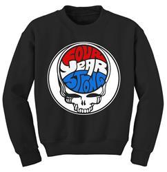 Dead Skull Black Crewneck Sweatshirt