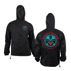 Keys Black Windbreaker