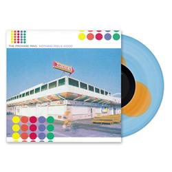 The Promise Ring - Nothing Feels Good Light Blue w/ Orange Swatches LP