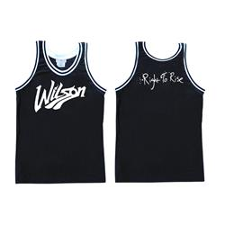 Right To Rise Black Basketball Jersey