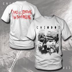 Chaos White T-Shirt