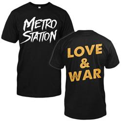Love & War Black T-Shirt
