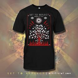 Tree Black T-Shirt