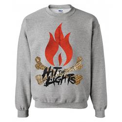 Flame Heather Crewneck