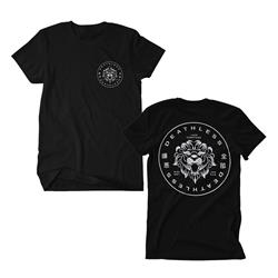 Circle Lion Black
