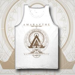Gold Logo White Tank Top