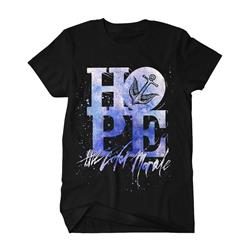 Hope Splatter Black T-Shirt *Final Print!*