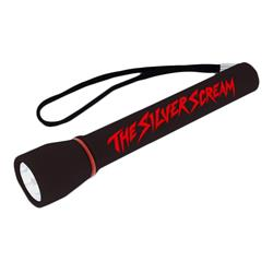 The Silver Scream Black Flashlight
