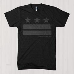 Stripes Heather Charcoal T-Shirt