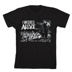 Wake Up Black T-Shirt