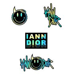 Logo Holographic Sticker Set