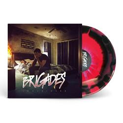 Indefinite Hot Pink/Black With Baby Blue Splatter Vinyl LP