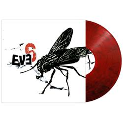 Eve 6 - Self-Titled Red/Black Swirl