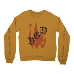 Afterburner Gold Crewneck