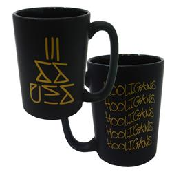 Hooligans Black Coffee Mug
