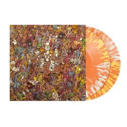 Tree City Sessions Half Mustard/Half Clear With Orange Splatter Vinyl 2Xlp