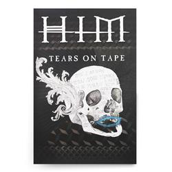 Skull Tears On Tape Poster