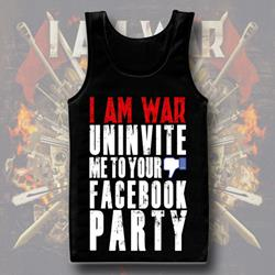 Uninvited Black Tank Top