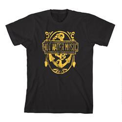 Gold Anchor Black