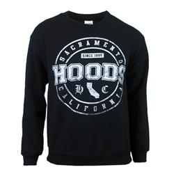 California Black Crewneck Sweatshirt