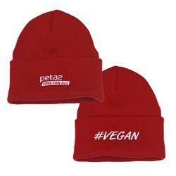 #Vegan Red