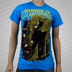 Elephant Teal *Sale! Final Print* $6 Sale