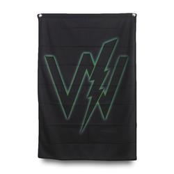 Green Logo Black Banner