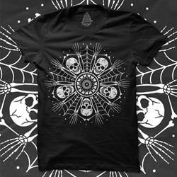 Bone Wreath Black