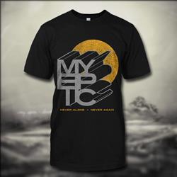 Never Alone Black T-Shirt