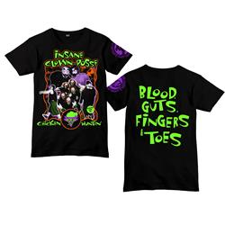 30th Anniversary Blood Guts Fingers Toes Black