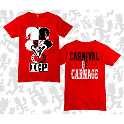 Carnival Of Carnage Joker Card Red