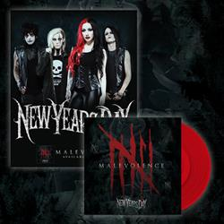 Malevolence - Opaque Red LP/Poster Bundle