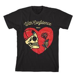 Heart Skull Black
