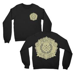 Laurel Black Crewneck