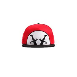 Swords Red/Black Snapback
