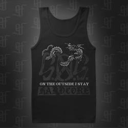 Dragon Black Tank Top