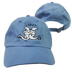 Ghost Light Blue Dad Hat