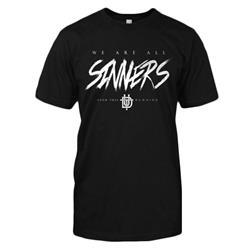 Sinners Black T-Shirt