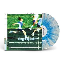 Four Minute Mile White W/ Heavy Blue Splatter