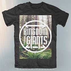 Forest Black T-Shirt