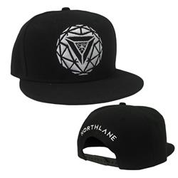 Sphere Black Snapback