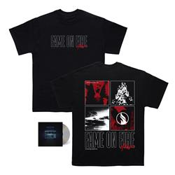 Down Tee + CD Bundle