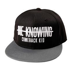 Die Knowing Grey/Black Snapback