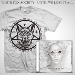 White Fox Society - CD + T-Shirt Bundle