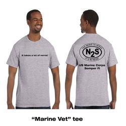 Marine Vet Heather Grey