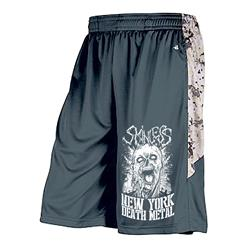 Zombie Head Sand Digital Camo/Grey Shorts