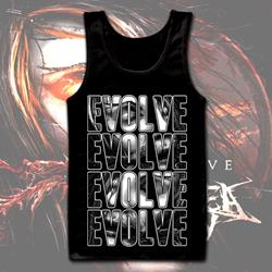 Evolve Black Tank Top